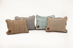 Luxury pillows by ivy and duke for Parkman george handmade raised dog bed