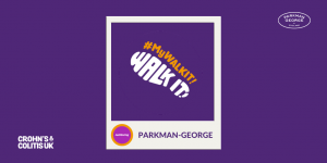 Parkman George luxury dog beds are raising money for Crohn's and Colitis UK by taking part in Walk It 2020.