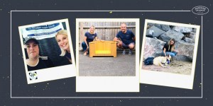 Parkman George luxury wooden raised dog beds December merry Christmas and thank you blog for 2020 image. featuring wave community radio station a bed delivery and faith imagery all based in Somerset uk